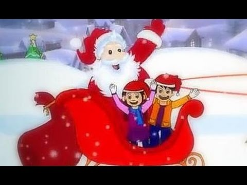 Santa Claus Is Coming To Town | Christmas Carols For Kids With Lyrics - YouTube