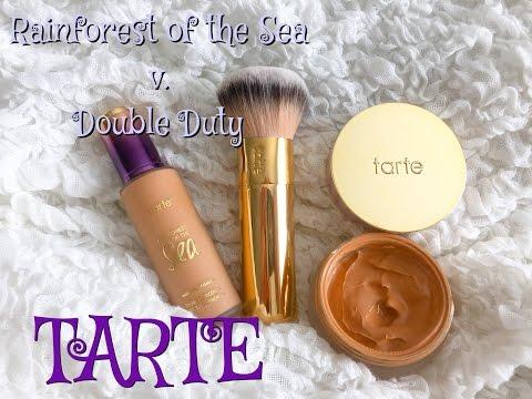 Bases de Tarte Rainforest of the Sea Y Double Duty (Muestra)