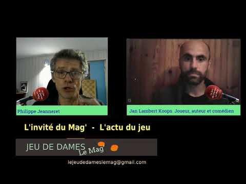 Le Jeu De Dames, Le Mag' N°15 Avec Lambert-Jan KOOPS