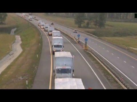 Ukraine: We destroyed part of Russian convoy