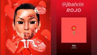 J Balvin - Rojo. (Video Oficial Lyric) LETRA