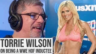 Torrie Wilson On Being A WWE Hall Of Fame Inductee
