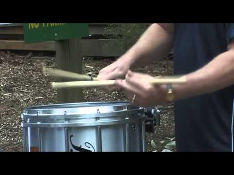 Scott Johnson - Clinic Snare Solo