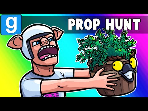 Gmod Prop Hunt Funny Moments - You Thought He Was a Pott, Bu