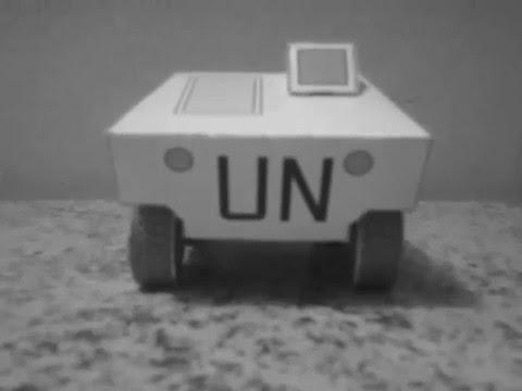 Papercraft Maquete em papel da VBTP Urutú/ Urutú tank paper model