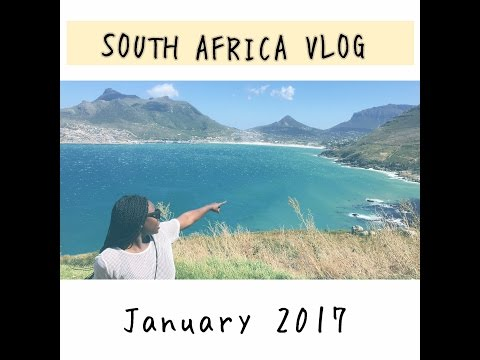 Travel Vlog| Johannesburg and Cape Town- South Africa