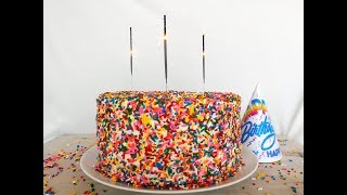 Dessert Recipe: Homemade Funfetti Cake by Everyday Gourmet with Blakely