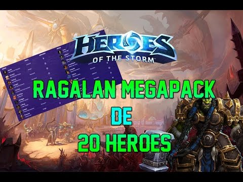 HEROES OF THE STORM | THRALL - REGALO DE 20 HÉROES con MEGAPACKS