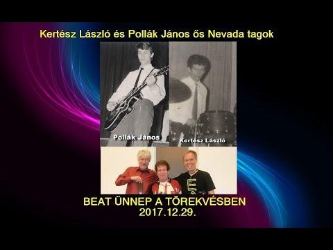 NEVADA zenekar legendás tagjai a CBB BEAT ÜNNEPÉLY A TÖREKVÉSBEN buliján 2017-12-29