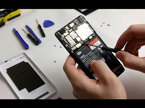 Xiaomi Mi 4C - wymiana baterii
