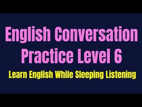 Improve Vocabulary ★ Learn English While Sleeping ★ Listening English Conversation Practice Level 6