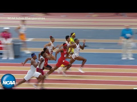 Men's 60m Dash At 2019 NCAA Indoor Track And Field Championship