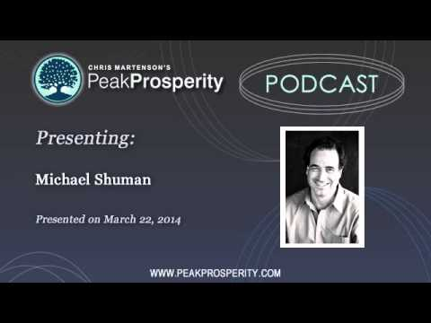 Michael Shuman: The Benefits of Deploying Investment Capital Locally Vs Wall Street