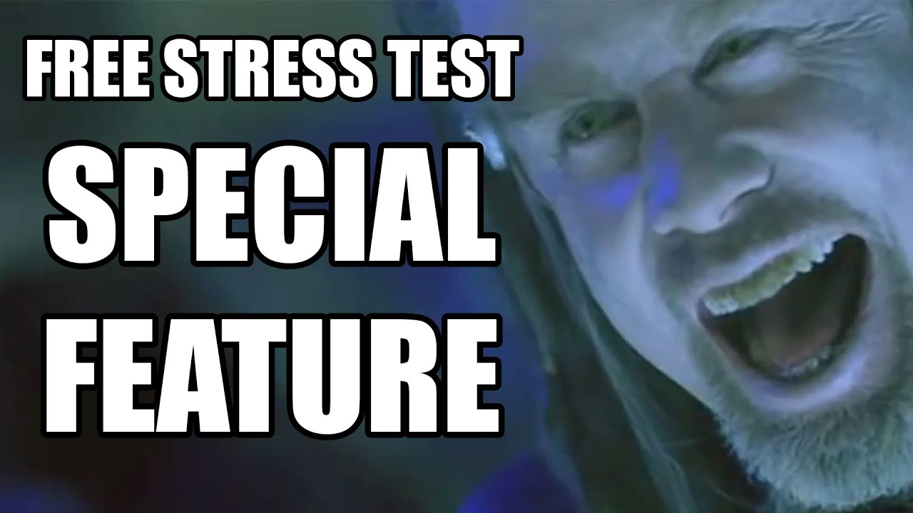 GRATIS DATOR STRESS TEST
