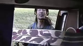 Longboarding over 40 mph down a big hill in the Canadian Prairies
