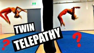 Download TWIN TELEPATHY TUMBLE CHALLENGE! Mp3 and Videos