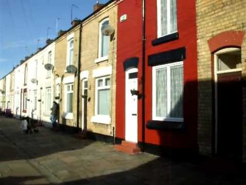 Ringo Starr's Liverpool Homes - A walk from Madryn Street to Admiral Grove