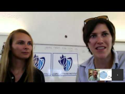 Google Hangout with NG Explorer & Ecologist Clare Fieseler