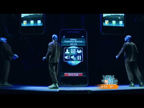 Blue Man Group - Behind the scenes with Blue Man &