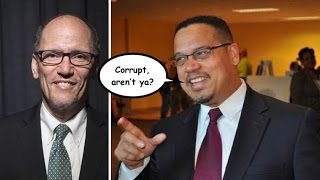 Keith Ellison Will Stop Lobbyist Donations to DNC—Tom Perez Will Not