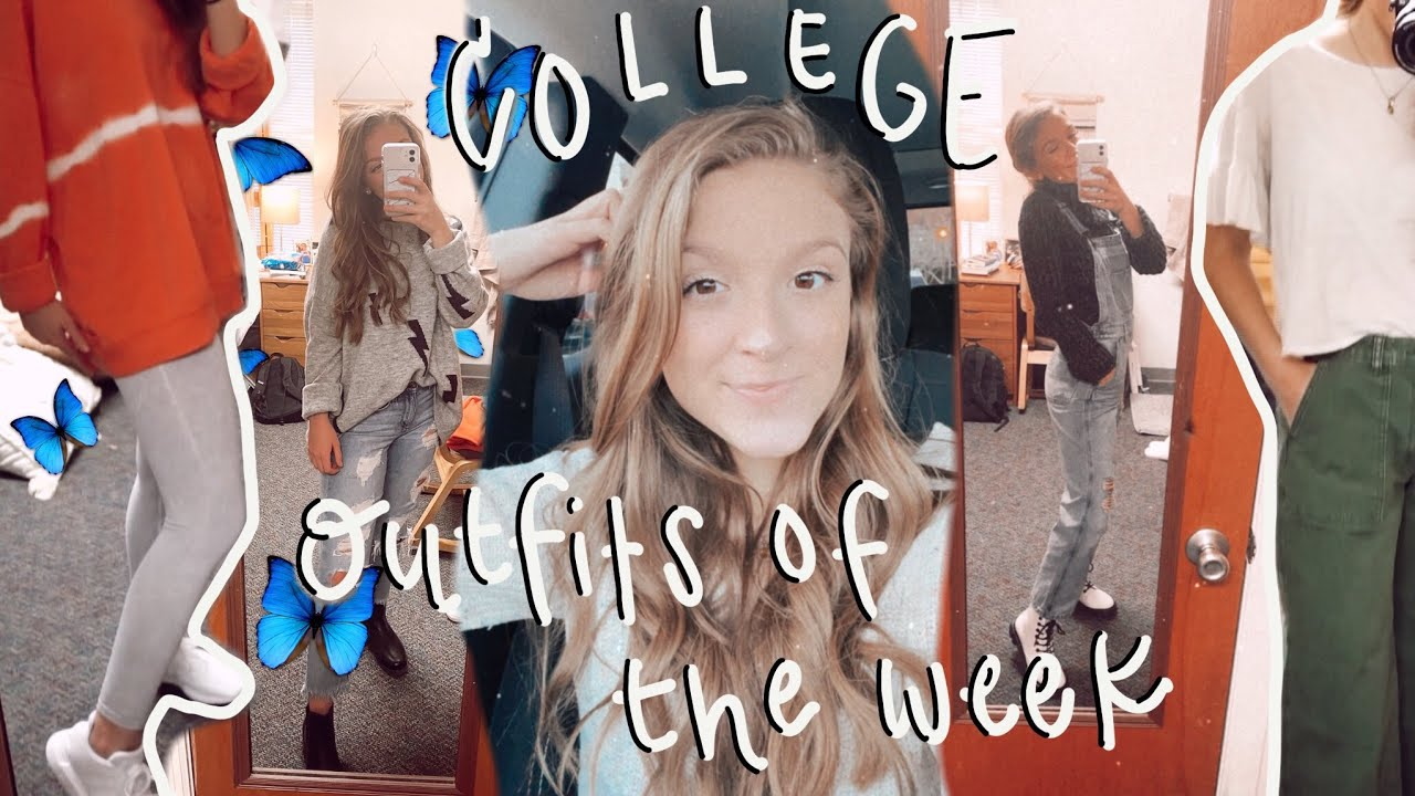 college outfits of the week 2021 ll winter outfit ideas