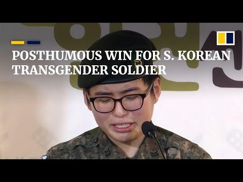 Deceased South Korean transgender soldier wins court discrimination case