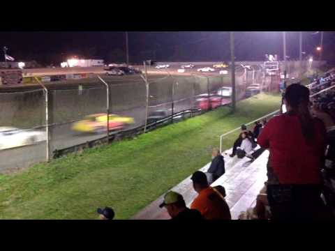 Factory Stock Feature part 3 Superbowl Speedway 3-18-17