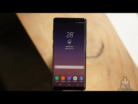 Galaxy Note 8 Unboxing And First Look