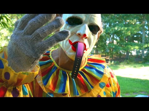Scary Clown Breaks in Our House and Destroys our Magic Bands!