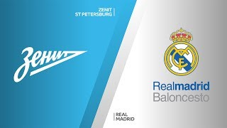Zenit St Petersburg - Real Madrid Highlights | Turkish Airlines EuroLeague, RS Round 11