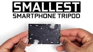 World's Smallest Smartphone Tripod