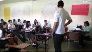 Quand les élèves font des blagues aux Profs