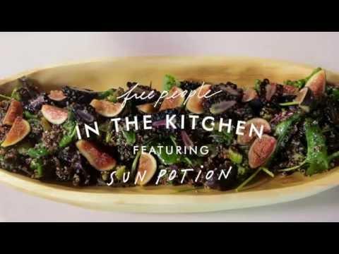 Pine Pollen Quinoa Salad Recipe | In the Kitchen | Free People