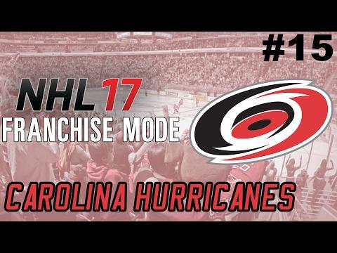 """NHL 17 Franchise Mode - Carolina Hurricanes ep. 15 - """"Playoff Bound?"""""""