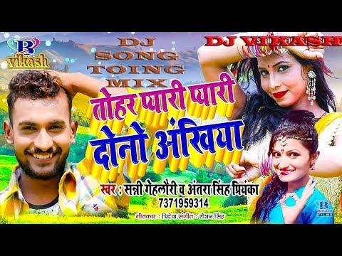 Tohar Pyari Pyari Do Akhiyan, Pyari Pyari Do Akhiyan, Antra Singh Priyanka, Sunny Lahori Toing Mix
