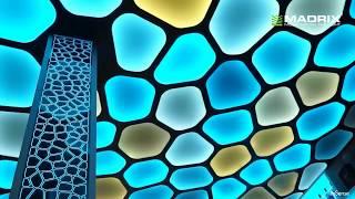 видео Подвесной потолок из оргстекла