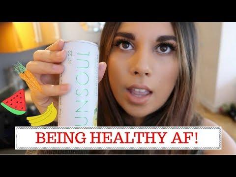 BEING HEALTHY AF! Vlog 46 | Charlotte Palmer Evans