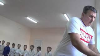 1.11.15 Открытое занятие по дзюдо. Награждение родителей. Centre Judo Kids. Feodosiya