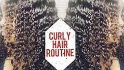 CURLY HAIR ROUTINE 💦 | Ft. CYNOSURE HAIR | BRAZILIAN KINKY CURLY HAIR