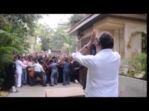 Amitabh Bachchan House in Junu Mumbai INDIA