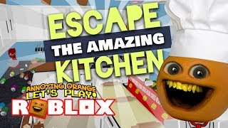 Roblox: ESCAPE the AMAZING KITCHEN Obby!! [Annoying Orange]