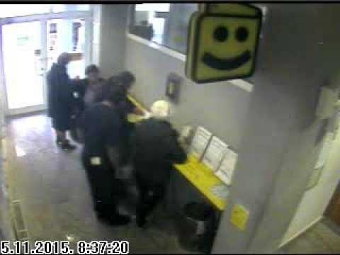 PLJACKA RAIFFEISEN BANKE NA ILIDZI 5.11.2015