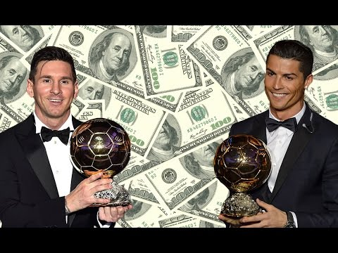 Top 10 RICHEST FOOTBALLERS In The World 2017 | Net Worth
