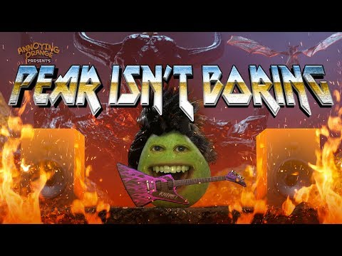 Annoying Orange - Pear Isn't Boring! (ft. Terabrite)