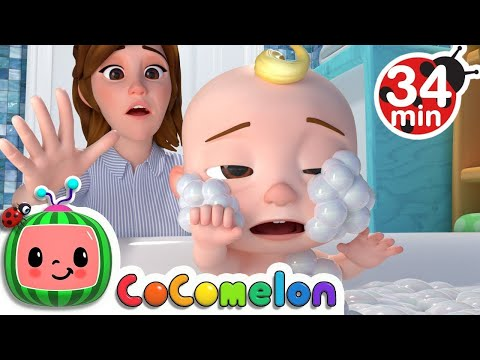 Baby Bath Song + More CoComelon Nursery Rhymes & Kids Songs