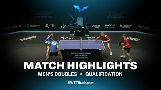 Huzsvar/Szantosi vs Tiutriumov/Ismailov | WTT Contender Budapest 2021 (Qual)