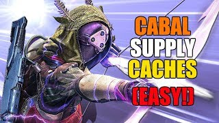 How to find Cabal Supply Caches (EASY) | Destiny 2