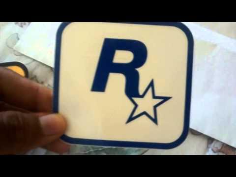 Stickers Rockstar Games. GTA V GRATIS!.