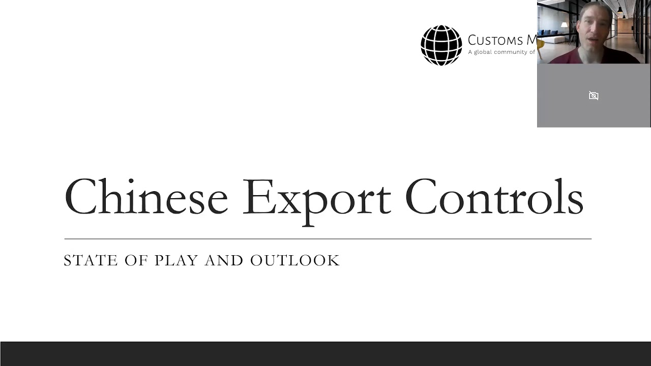 Final stretch: Chinese Export Control Law ready for adoption. Ready?