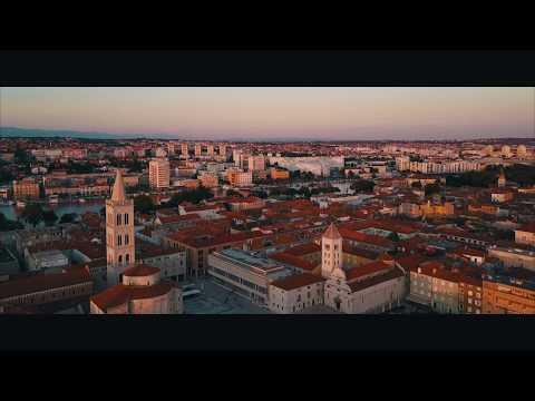 Split & Zadar | Croatia | 4K Drone Video